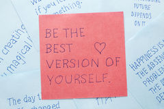 sticky-note-text-be-best-version-yourself-written-remember-66618707