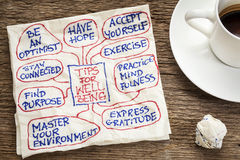tips-well-being-napkin-doodle-cup-coffee-33332206